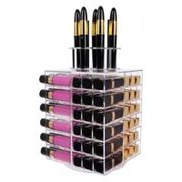 A spinning lipstick tower to make picking your daily shade a breeze