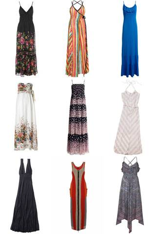 6f5be3975d Maxi dresses spark neo-hippy vibes and spell femininity, but with minimum  effort. Shop the hottest high street floor-length dresses, that'll add a  Woodstock ...