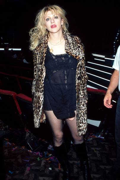 Courtney Love Style And Fashion Highlights In Pictures