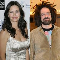 Courteney Cox and Adam Duritz