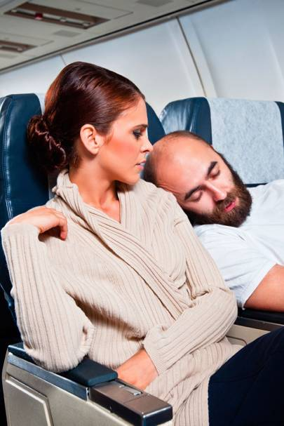 11 worst things to do on a plane