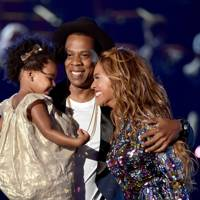 When Jay-Z and Blue Ivy presented Beyonce with an award