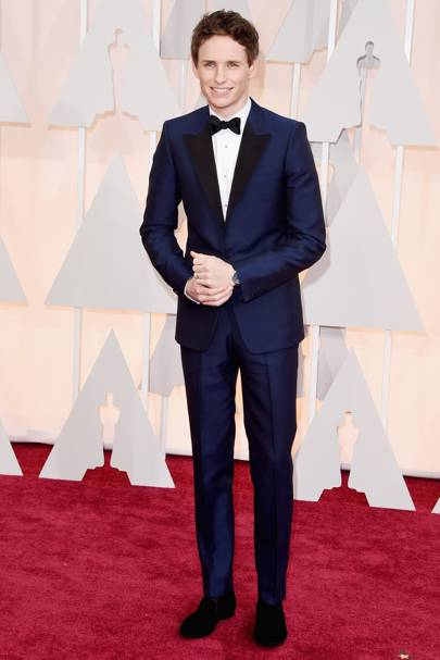 Best Dressed Man: Eddie Redmayne