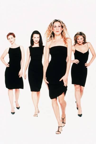 The History Of Little Black Dress Glamour Uk