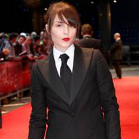Noomi Rapace at The Dark Knight Rises premiere