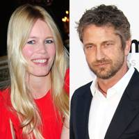 Gerard Butler and Claudia Schiffer