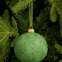 Best Christmas decorations: the scalloped bauble