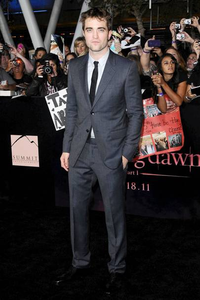 6ft 1in: Robert Pattinson