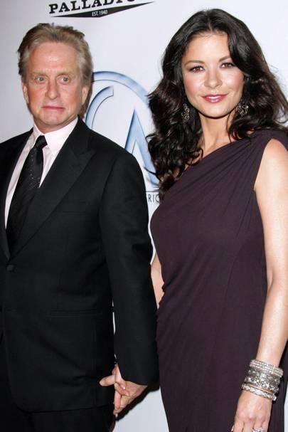 Catherine Zeta-Jones & Michael Douglas
