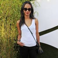 Zoe Saldana at Barclaycard British Summertime