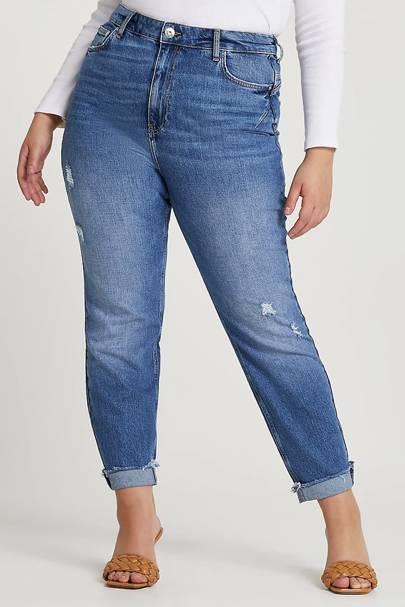 Best Jeans For Curvy Women: High Rise Cut
