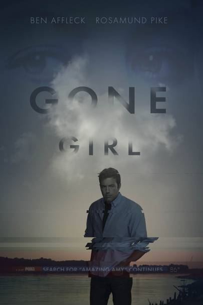 Gone Girl Film Poster Ben Affleck