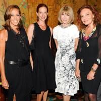 Donna Karan, Vanessa Friedman, Anna Wintour & Diane von Furstenberg