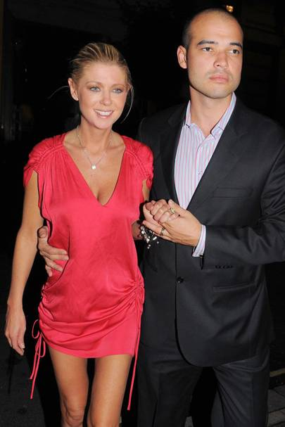 Tara Reid and Zachary Kehayov