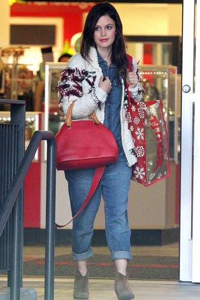 rachel bilsons street style celebrity fashion glamour uk
