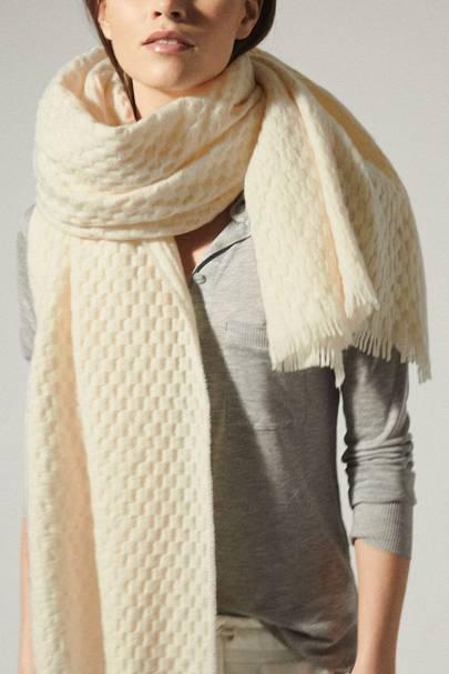 Best textured scarf