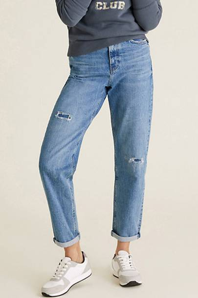 Best Jeans For Curve Petite: M&S Jeans