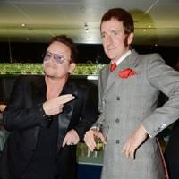 Bradley Wiggins & Bono