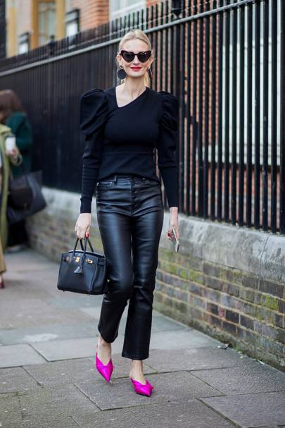 2. LEATHER TROUSERS