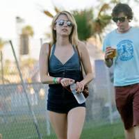 Emma Roberts at Coachella