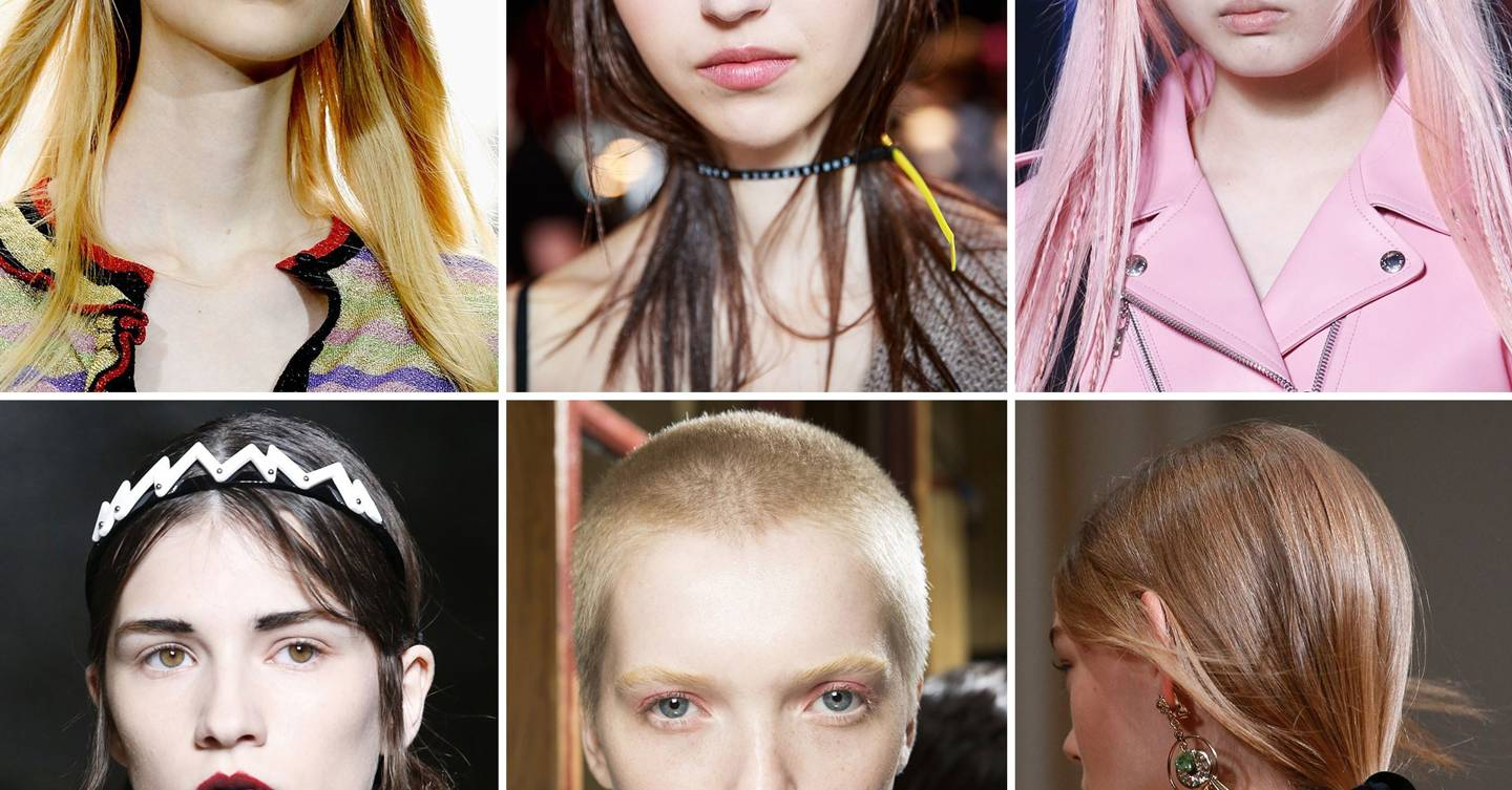 Spring Summer 2016 hair trends & hairstyle ideas