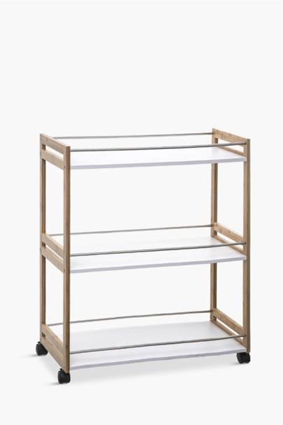 Best storage solutions: the kitchen trolley