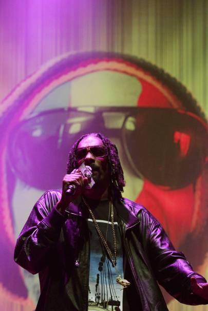 Snoop Lion at Bestival