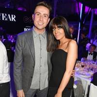 Nick Grimshaw and Claudia Winkleman