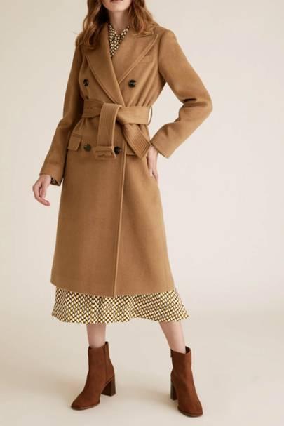 Best camel trenchcoat on sale