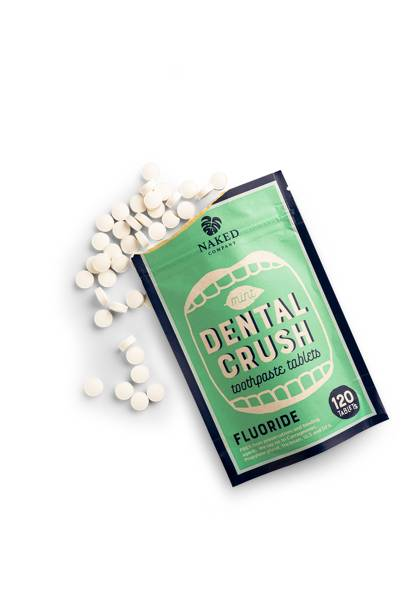 Dental Crush Toothpaste Tablets by Naked Company