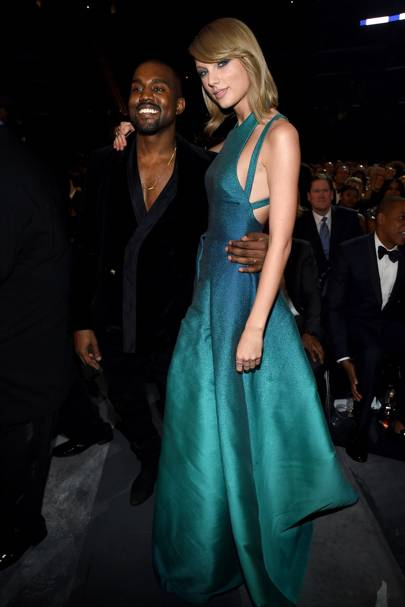 She made Kanye West laugh