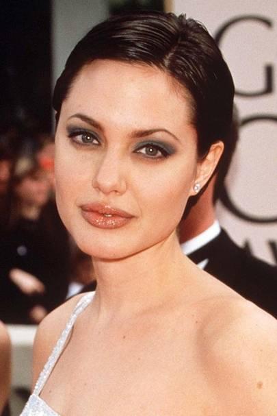 Angelina Jolie Hair Makeup Celebrity Beauty Changing Look