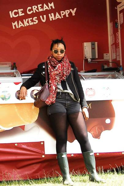 Naomi Mdudu, Fashion Editor, Isle of Wight Festival