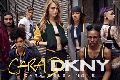 EXCLUSIVE: Cara X DKNY collection first look