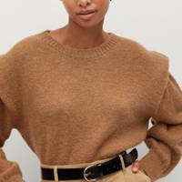 Mango Black Friday: The shoulder pad jumper