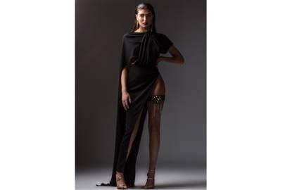 Luxury Black Dress by Ann Luchadé