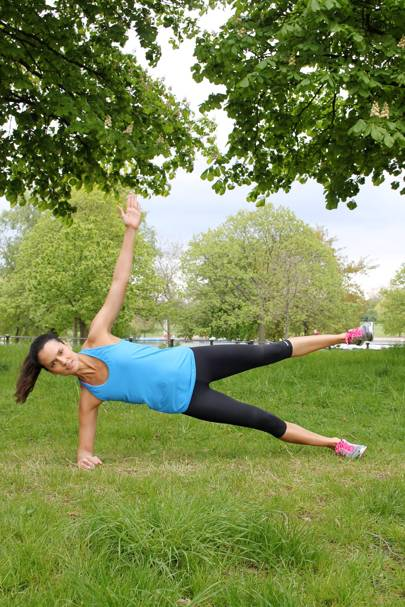 Side Plank Star Position