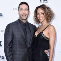 April: David Schwimmer and Zoe Buckham