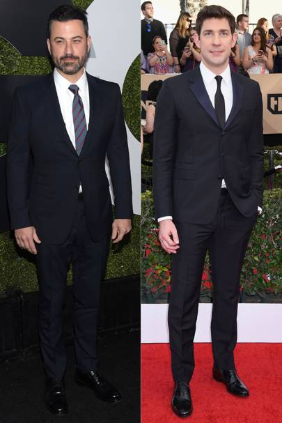Jimmy Kimmel & John Krasinski