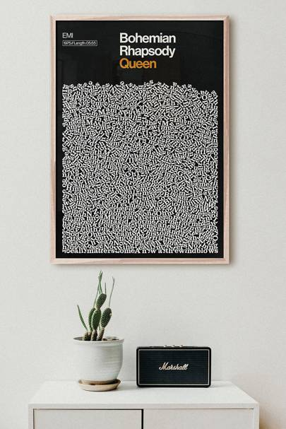Best wall art: for the music lover