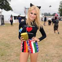 Pixie Lott at V Festival