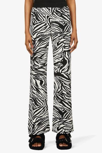 Zebra Print Trousers - Stine Goya