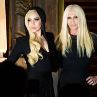 Lady Gaga & Donatella Versace