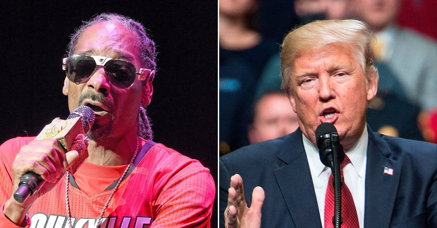 Donald Trump Weights On Snoop Dogg's Lavender Video ...