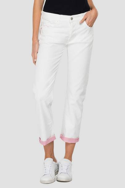 Best straight white jeans