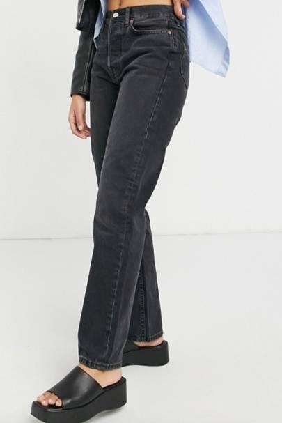 Best Black Jeans - Dad Fit