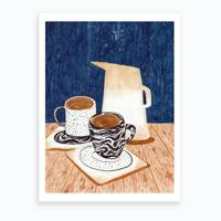 Coffee gifts: the coffee print