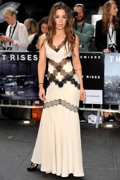 Roxanne McKee at The Dark Knight Rises premiere