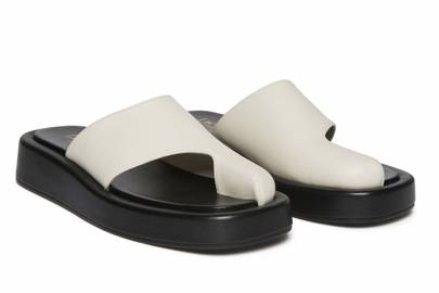 UGLY SHOES: CUT-OUT SANDALS