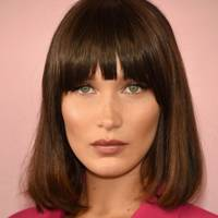 Straight bob with fringe